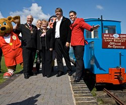 Free Travel if you were Born the Day the Railway Re-opened or have an Original Ticket