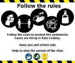 Covid EAST LINDSEY Infographics